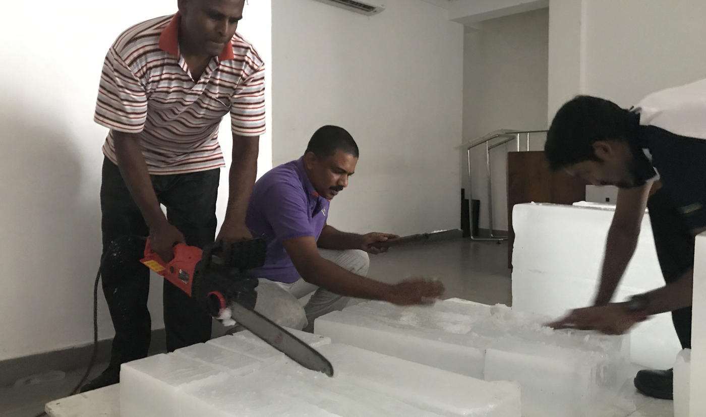 Just-ice (production process) at JDA Pereira Gallery, Colombo