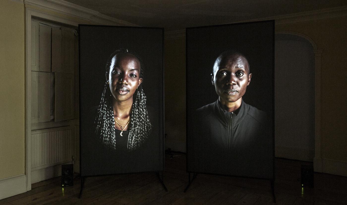 Installation view of MirrorIV : Legacy at Danielle Arnaud Gallery